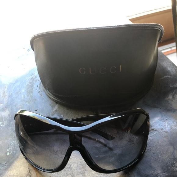 619a49f4e Gucci Accessories   Authentic Oversized Sunglassesnot For Sale ...